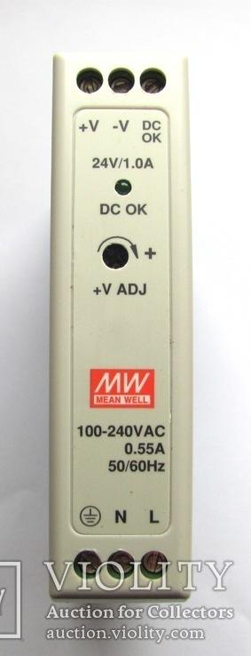 MDR-20-24 Блок питания 24В,1,7А,24Вт, фото №2