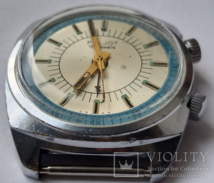 Часы Полет будильник, фото №7