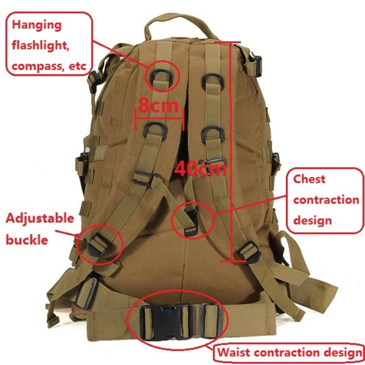 Тактический рюкзак(40L). CP camuflage. Блиц., фото №10