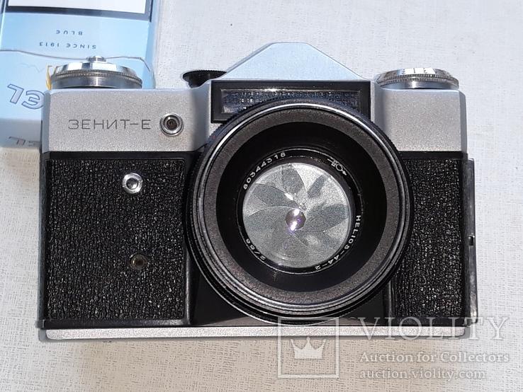 """Зенит-Е с объективом """"Гелиос-44-2"""", фото №11"""