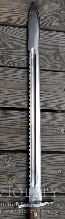 Штик ніж(Тесак)Швейцарський саперний 1914р.з підвісом., фото №8