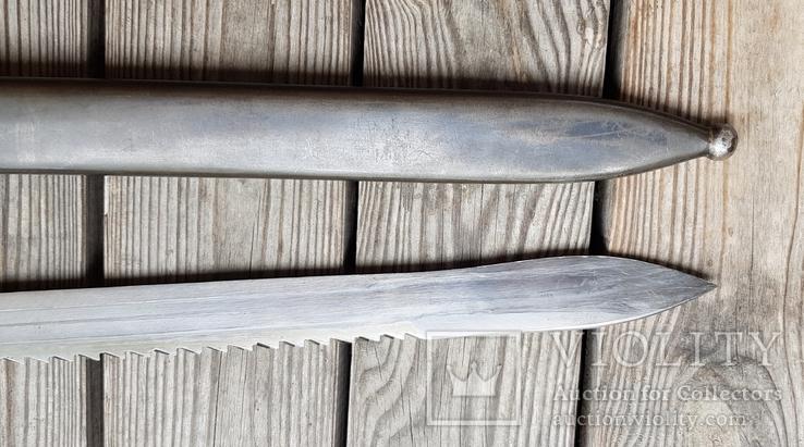 Штик ніж(Тесак)Швейцарський саперний 1914р.з підвісом., фото №9
