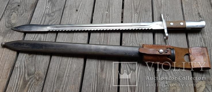Штик ніж(Тесак)Швейцарський саперний 1914р.з підвісом.