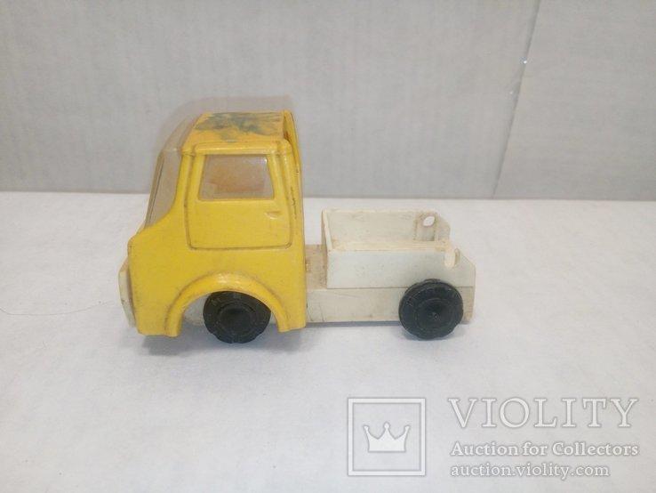Машинка желтая, фото №5