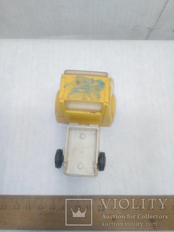 Машинка желтая, фото №6