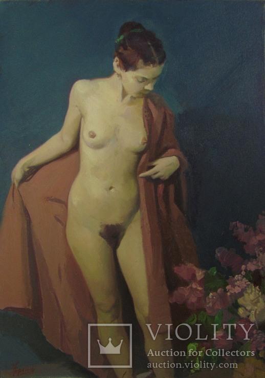 """Френц """"Девушка с сиренью"""", фото №13"""
