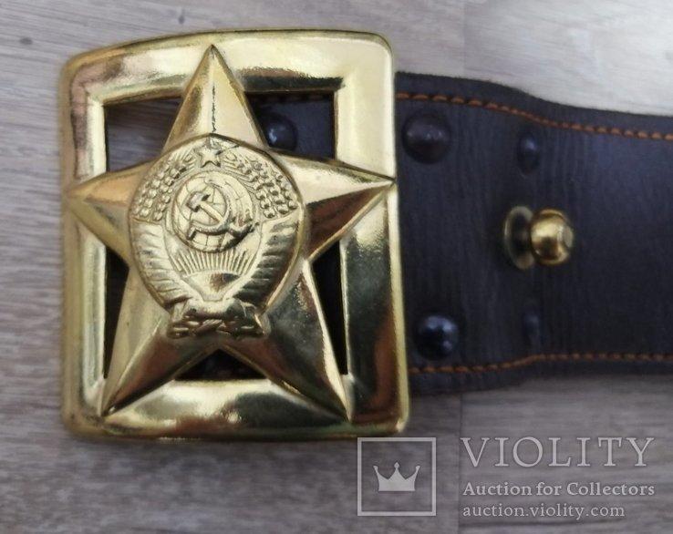 Генеральский ремень СССР и пр.атрибутика, фото №2