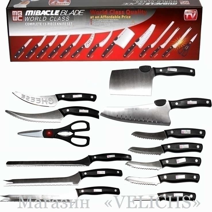 Набор ножей Mibacle Blade World Class ( 13 предметов), фото №11