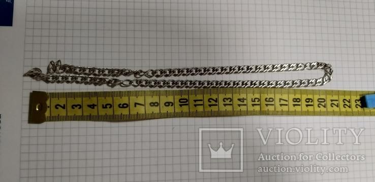 Цепочка серебро, под ремонт 15 грм, фото №2