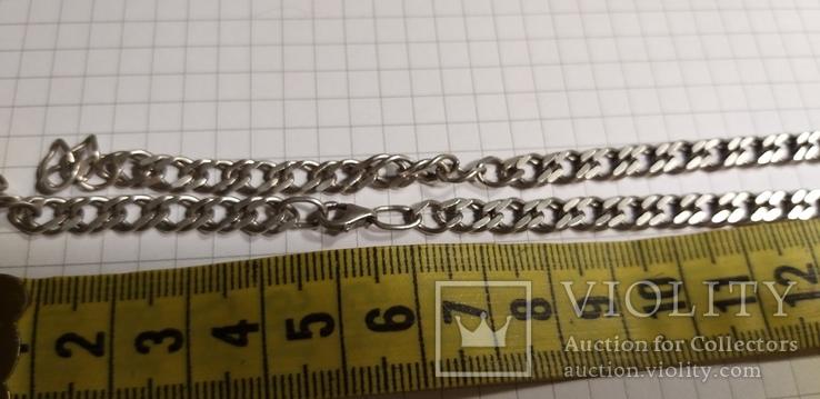 Цепочка серебро, под ремонт 15 грм, фото №3