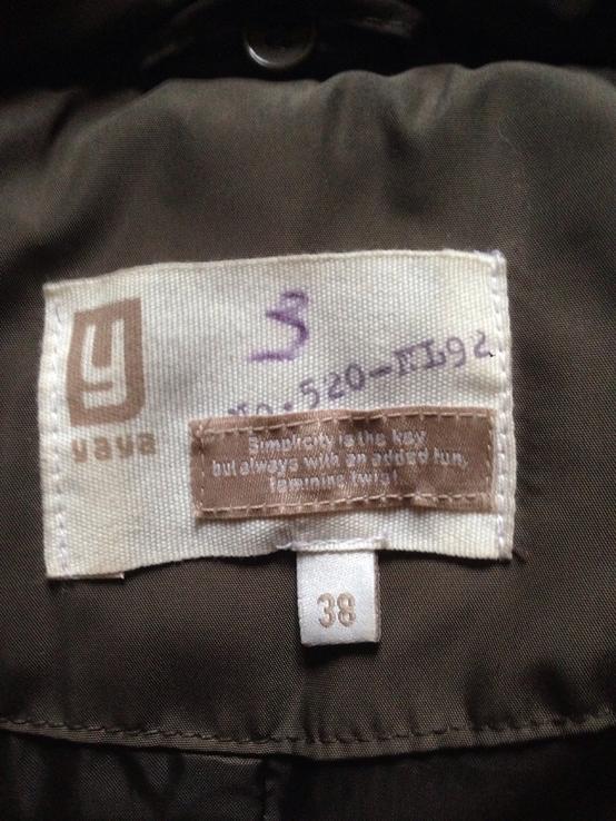 Пуховая жилетка, фото №3