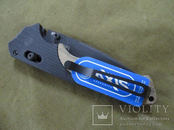 Нож Benchmade 615 Mini Rukus производства США (старых выпусков), фото №4