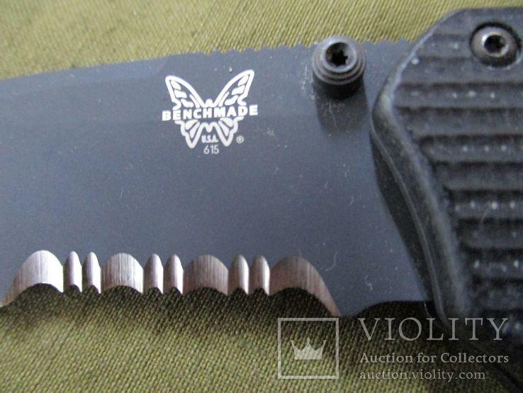 Нож Benchmade 615 Mini Rukus производства США (старых выпусков), фото №8
