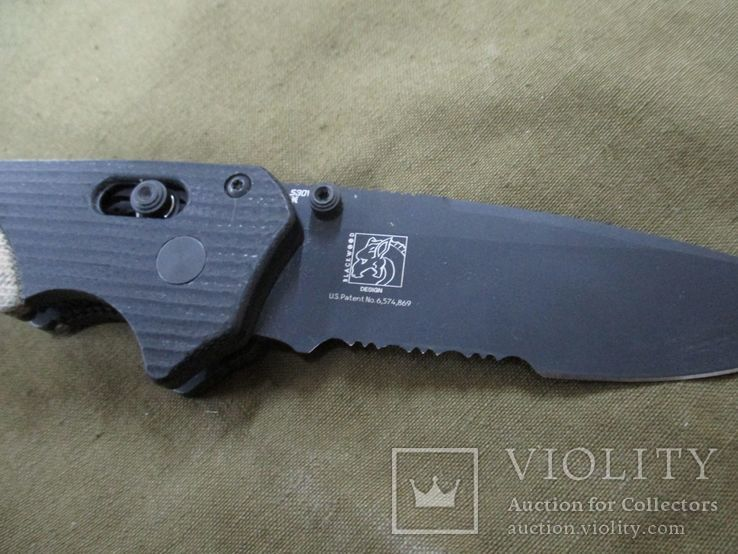 Нож Benchmade 615 Mini Rukus производства США (старых выпусков), фото №9