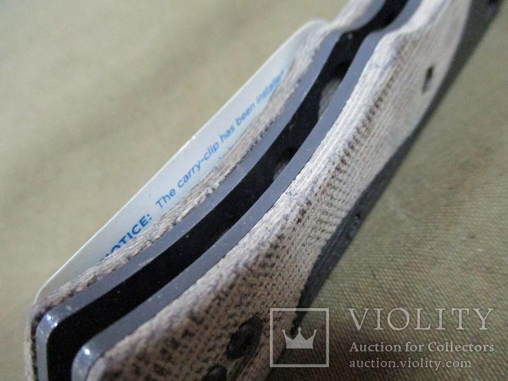 Нож Benchmade 615 Mini Rukus производства США (старых выпусков), фото №11