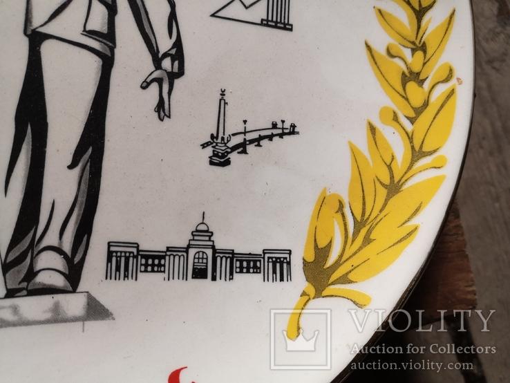 Сувенир тарелка Донецк мой город шахтер, фото №10