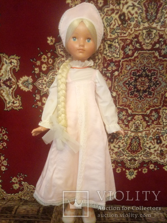 Кукла ссср, паричковая, 78 см, Василиса