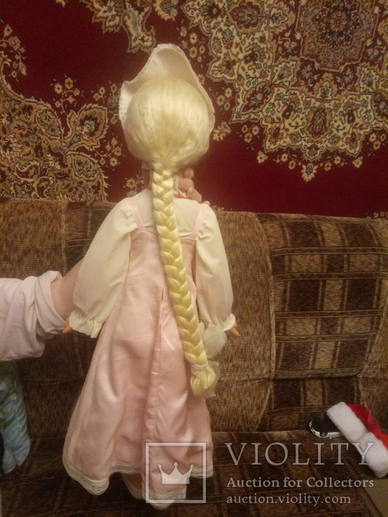 Кукла ссср, паричковая, 78 см, Василиса, фото №9