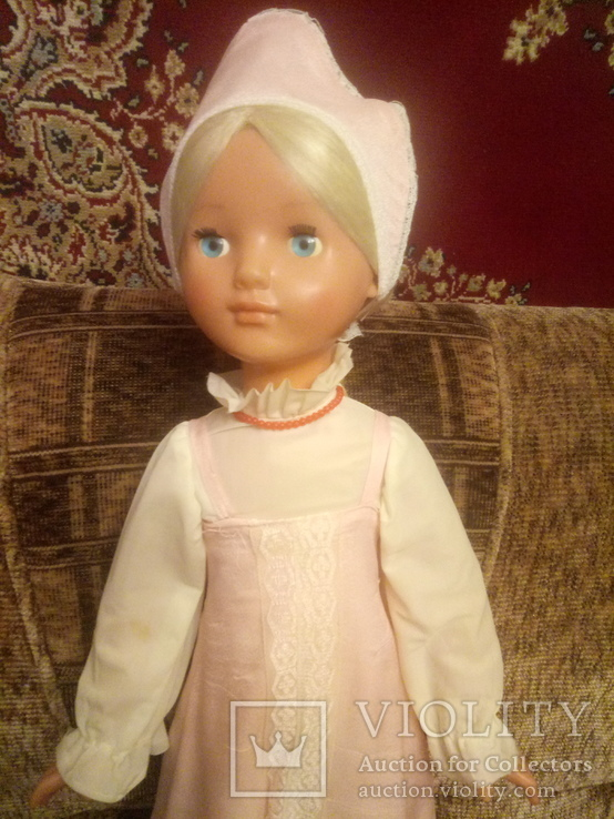 Кукла ссср, паричковая, 78 см, Василиса, фото №10