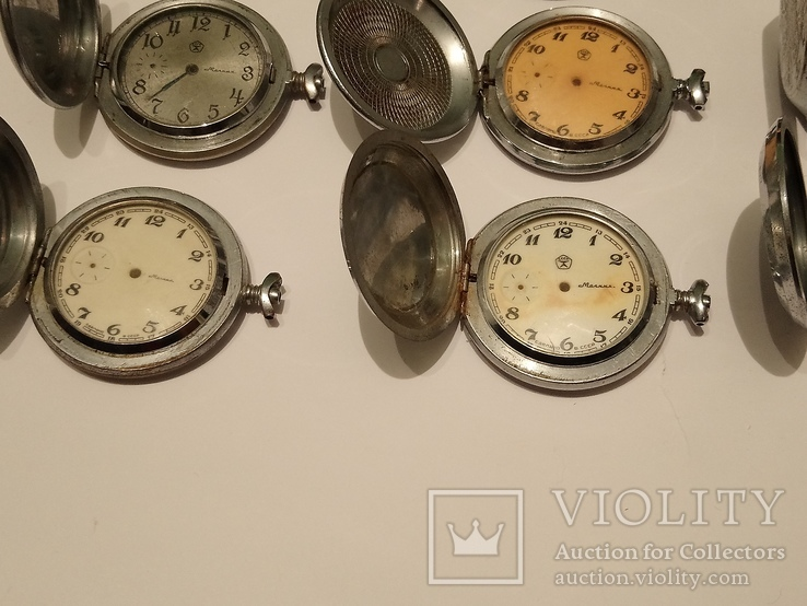 Корпуса карманних часов Молния, фото №5
