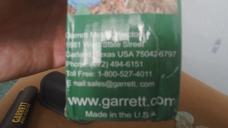 Пинпоинтер GARRETT Pro Pointer, фото №8
