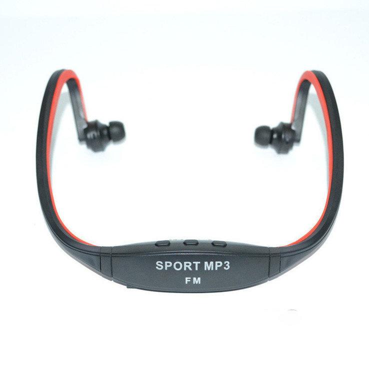 Наушники беспроводные SPORT S9 встроенный MP3 плеер, фото №3