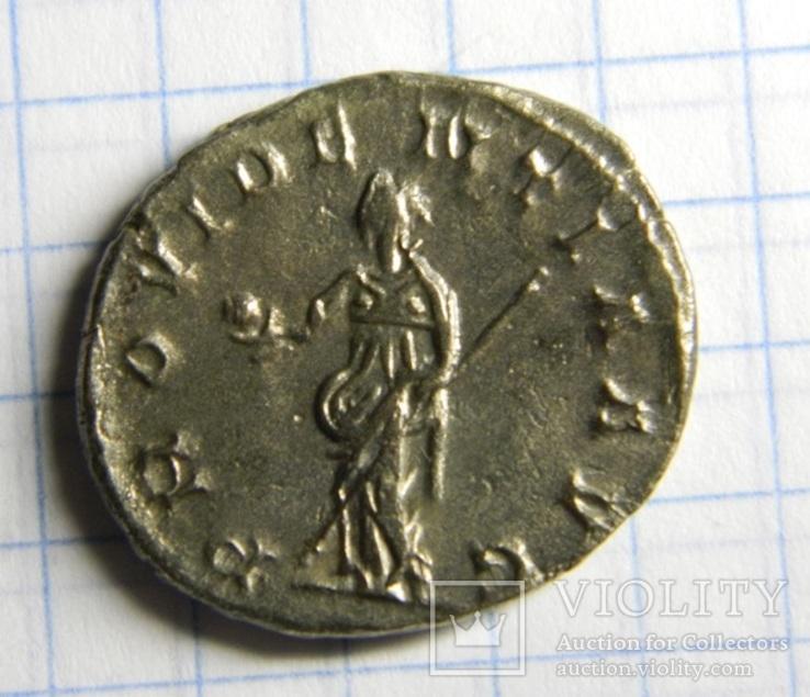 Император Постум, антониниан, реверс - PROVIDENTIA, фото №3