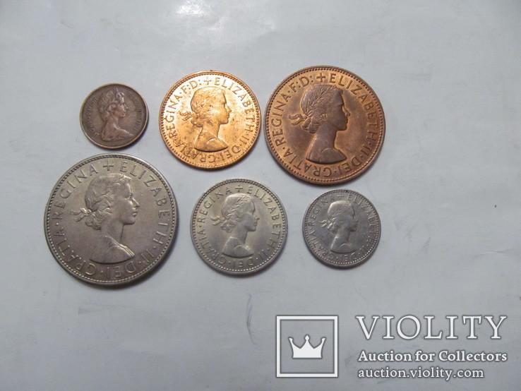 6 монет Британії