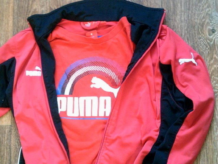 Puma - мастерка + футболка, фото №4