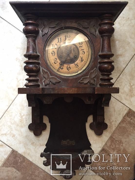 Настенные часы . D.R.PATENT (Kienzle) 1900 годы Германия.