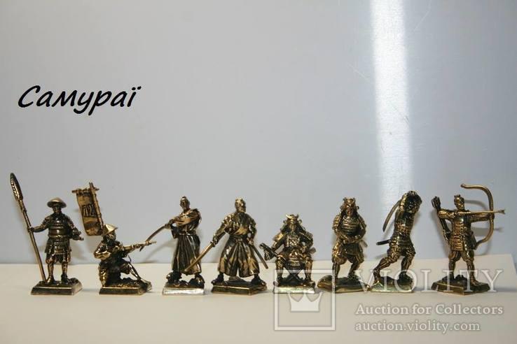 Набор Самураи (Японская армия 16 век -8шт), фото №3