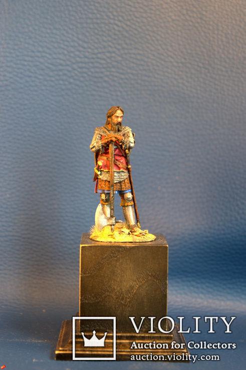 Средневековый рыцарь авторская работа 54 мм