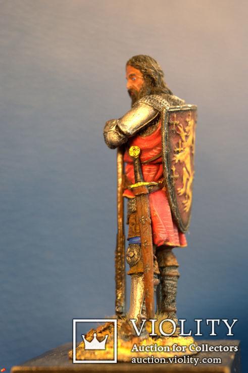 Средневековый рыцарь авторская работа 54 мм, фото №4