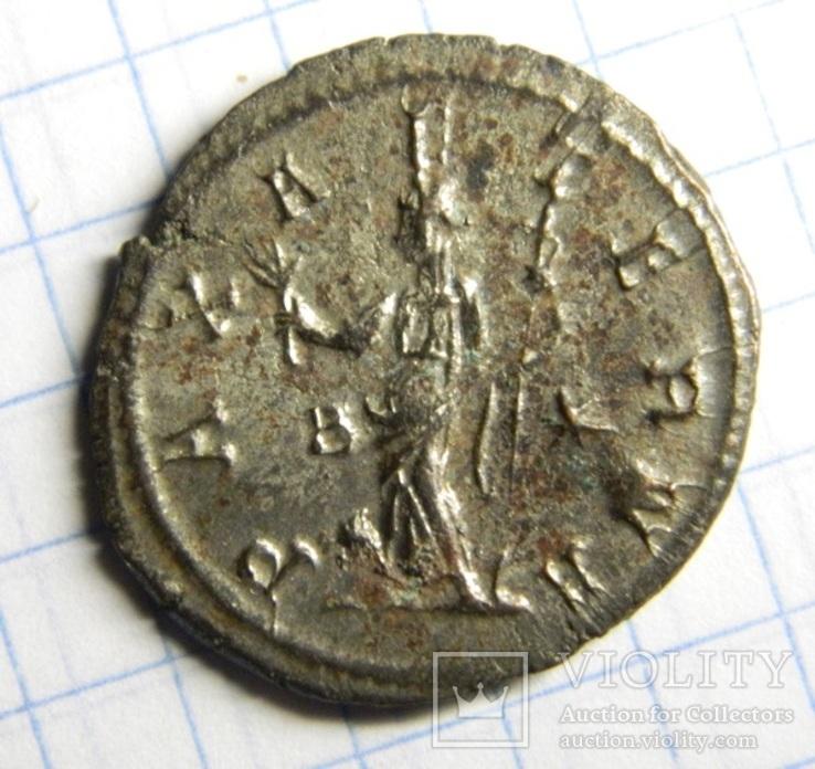 Император Тацит, реверс - PAX AVG, остатки серебрения, фото №3