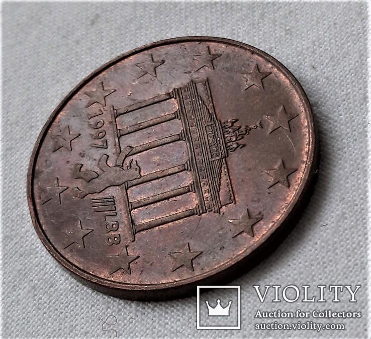 1 и 1/2 (1,5, Полтора) Евро, Берлин, Германия (77), фото №6