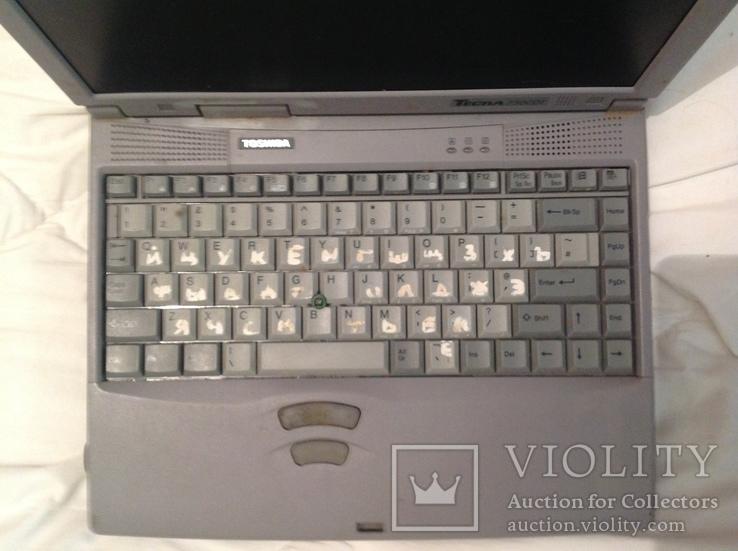 Ноутбук середины 90-х, Toshiba Tecra 750CDT, фото №9