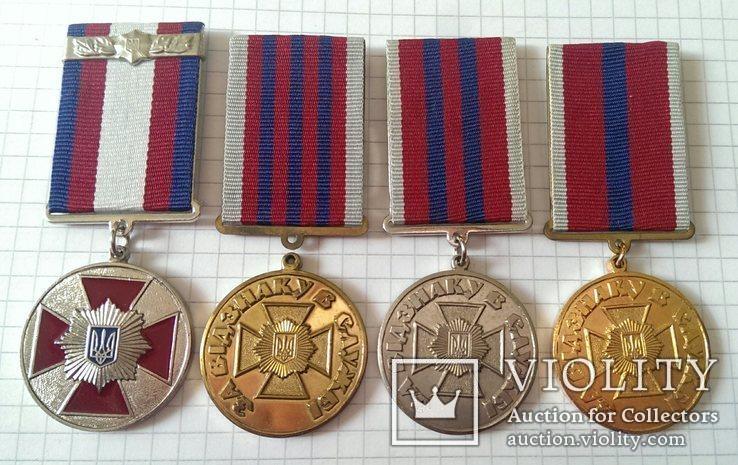 Police troops medal UKRAINE gendarmerie SWAT SEK Polizei Truppen = 4 медали ВВ МВД, фото №3