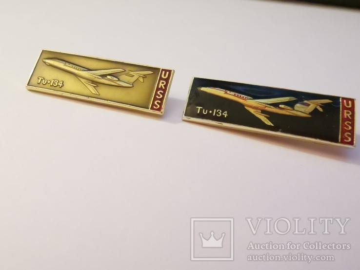 Значки ту-134 urss, фото №2