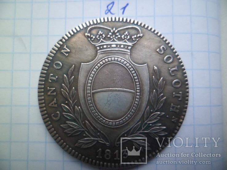 4 франка 1813 год копия, фото №3
