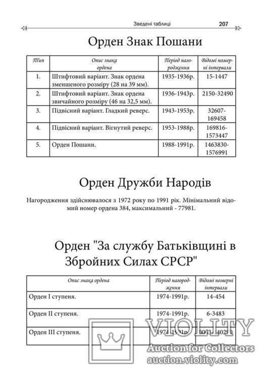 Ордени, Медалі СРСР, Довідники у двох томах, фото №7