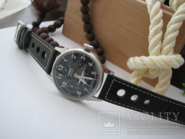 Часы Молния - Авиатор. Наручные часы, новый корпус, фото №3