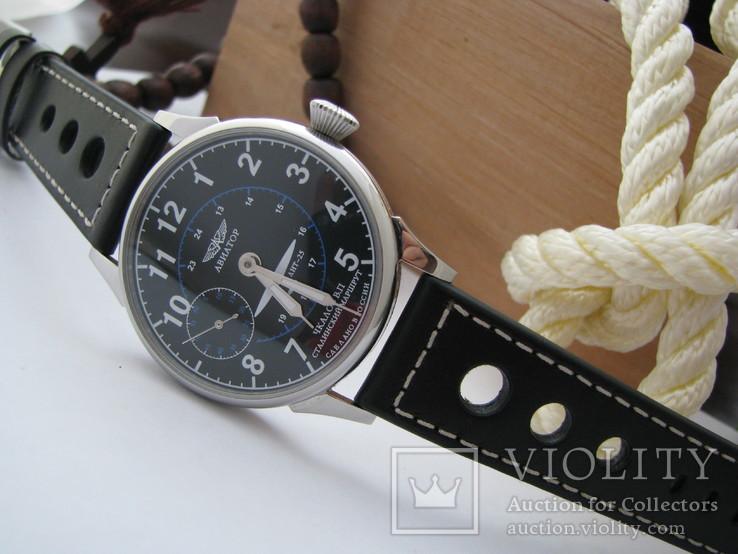 Часы Молния - Авиатор. Наручные часы, новый корпус, фото №2