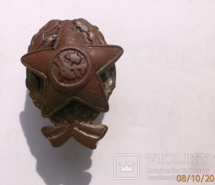 Малый знак Красного командира ? 1918 - 1922 год производства Бр. Бовдзей