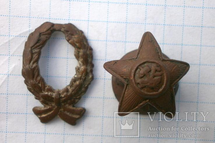 Малый знак Красного командира ? 1918 - 1922 год производства Бр. Бовдзей, фото №10