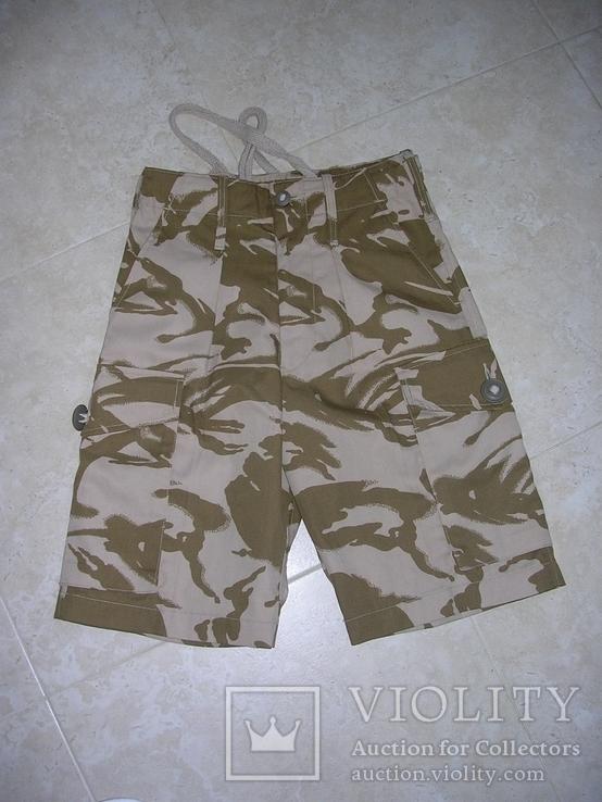 британские шорты в расцветке DDPM, фото №2