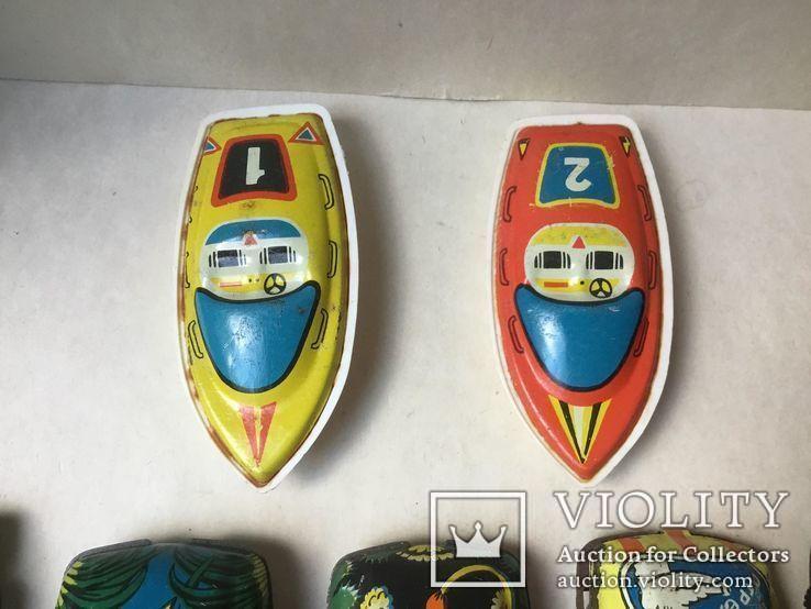 Гоночные машинки и 2 катера времен СССР., фото №6