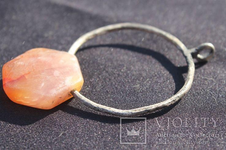 Підвіска з камінцем Ч.К., фото №11