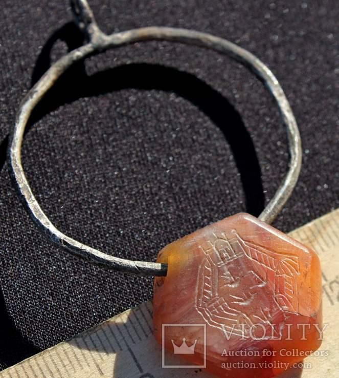 Підвіска з камінцем Ч.К., фото №12