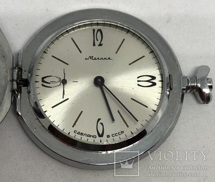 Карманные часы Молния.БАМ, фото №5