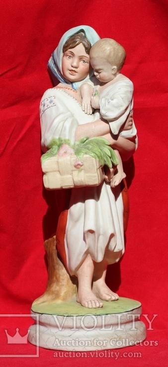 Наймичка («Девушка с ребенком и корзиной ») 1927–1932 гг., фото №3